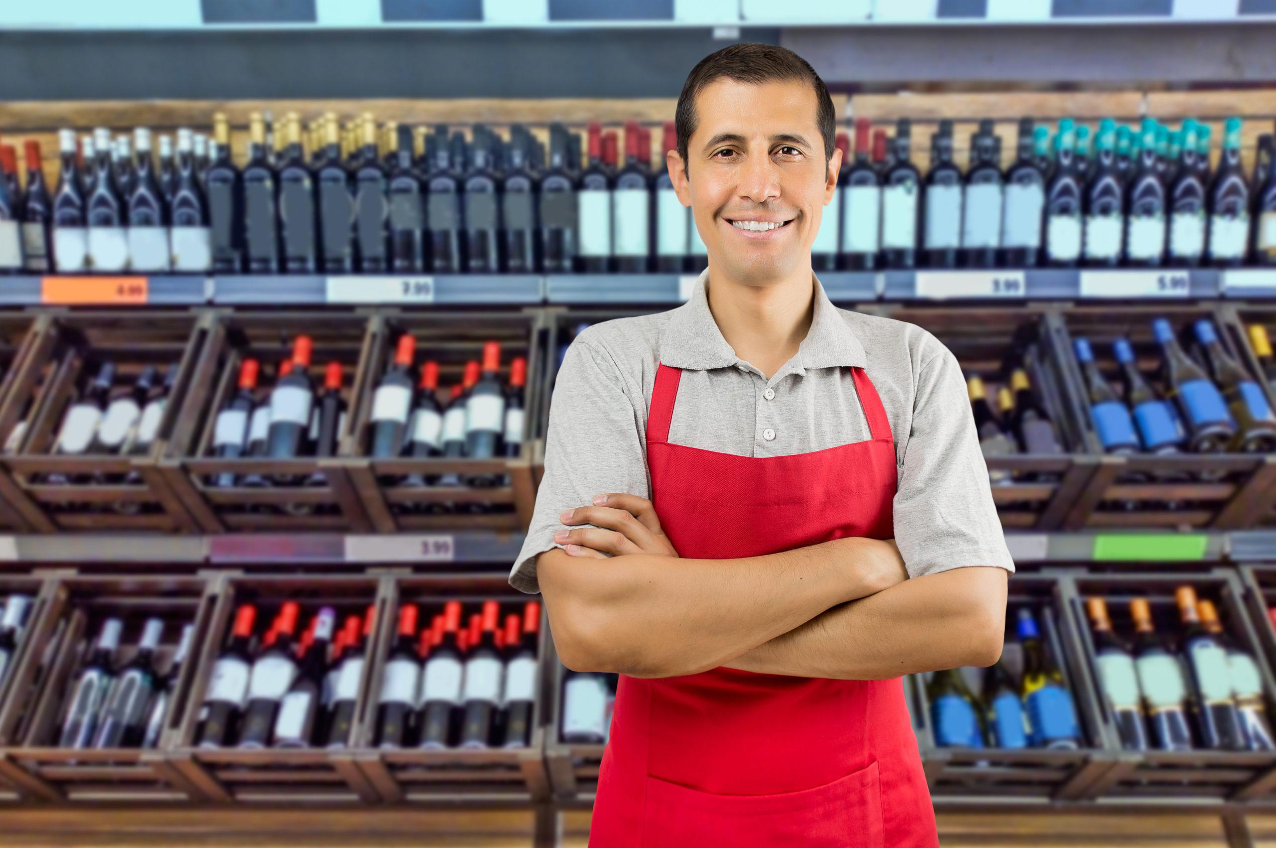 Getränkemarkt Mitarbeiter